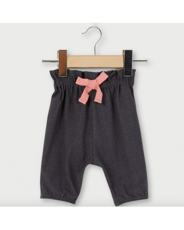 pantalone da bambina grigio...