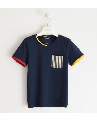 maglietta da ragazzo blu...