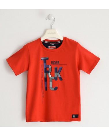 maglietta da bambino rosso...