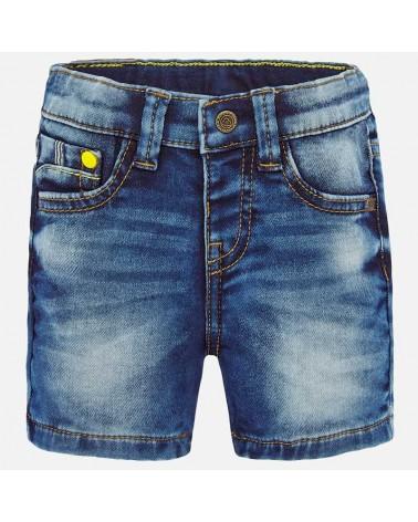Bermuda jeans chiaro da...