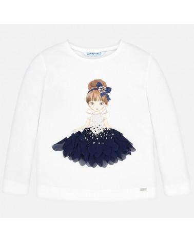 Maglietta da bambina manica...