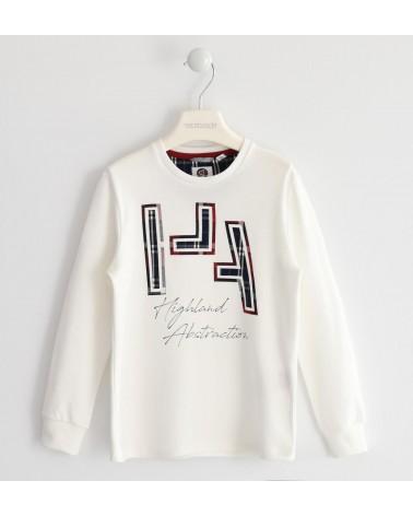 maglietta da bambino panna...