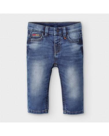 Jeans lungo chiaro da...