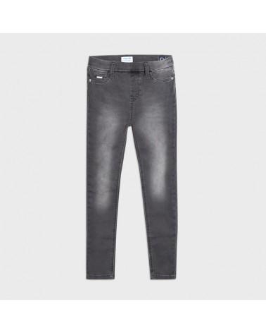 Jeans basic grigio da...