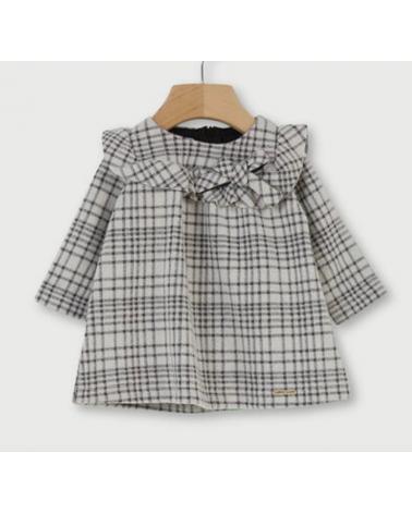 vestito da neonata grigio a...