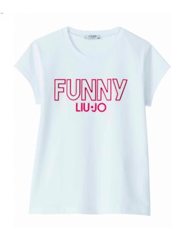 maglietta da ragazza bianco...