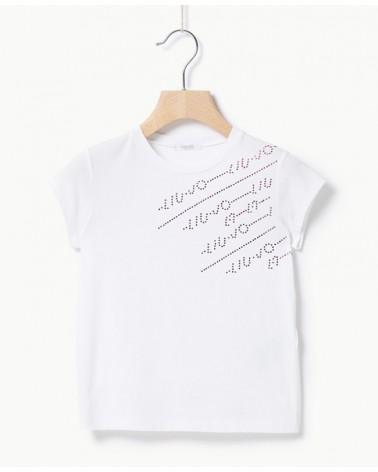 maglietta da bambina bianco...