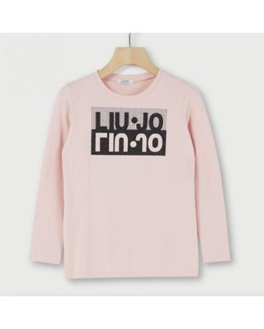 maglietta da ragazza rosa...