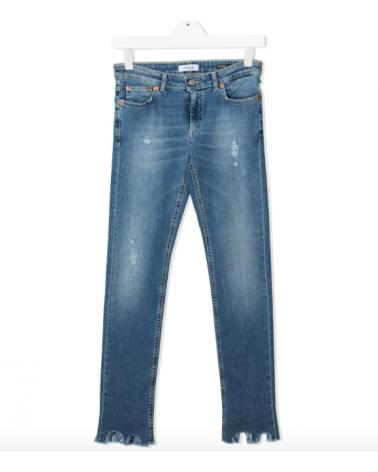 Jeans slim fit da ragazza...