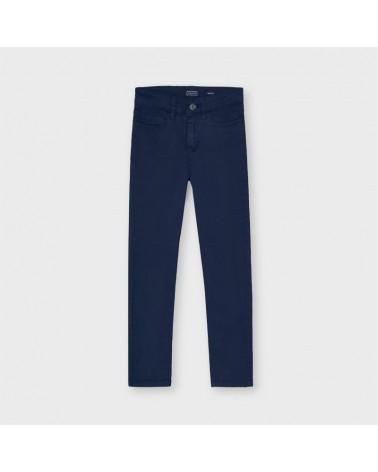 Pantalone slim fit blu da...