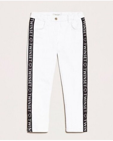 Pantaloni da ragazza bianco...