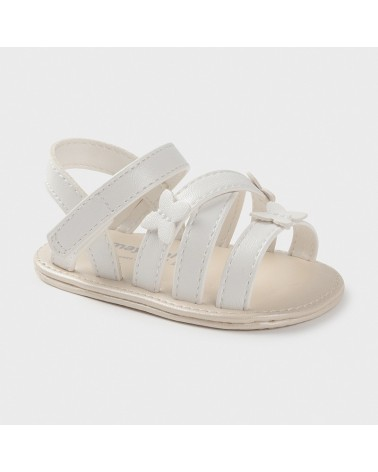 Sandali bianco con farfalle...