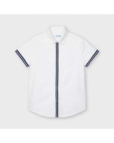 Camicia manica corta bianco...