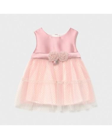 Vestito in tulle rosa da...