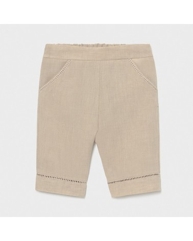 Pantalone cropped di lino...