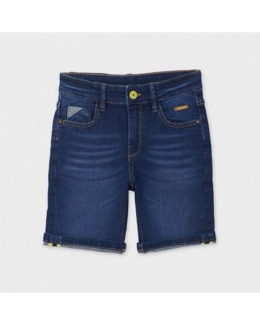 Bermuda jeans scuro 5...