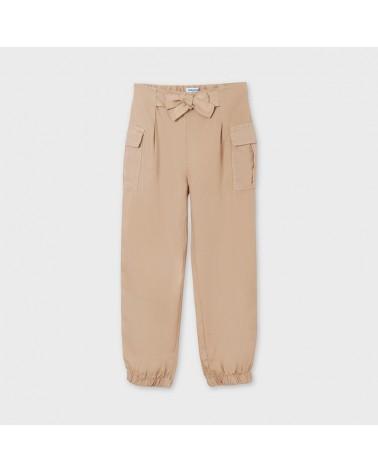 Pantalone tortora con...