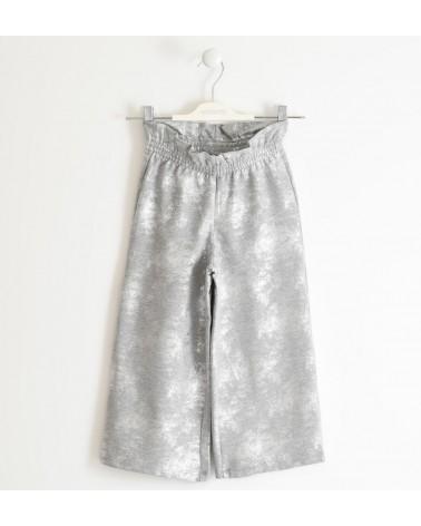 pantalone cropped in felpa...