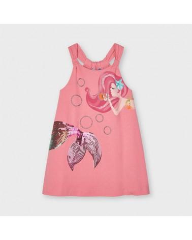 Vestito rosa sirenetta con...