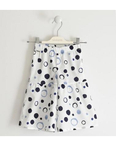 Pantalone lungo bianco con...