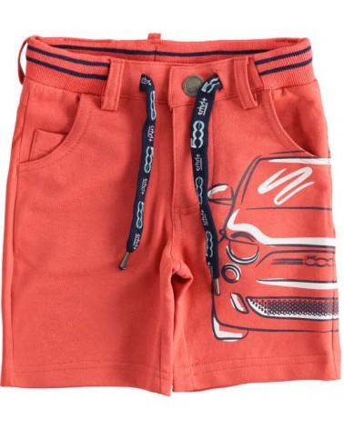 Pantaloncino in felpa rosso...