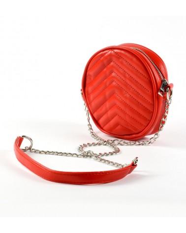 Borsa elegante rosso con...