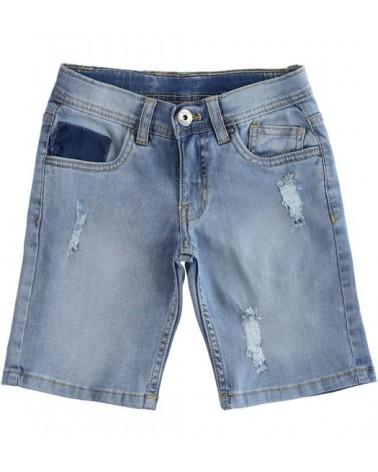 Jeans corto stretch chiaro...