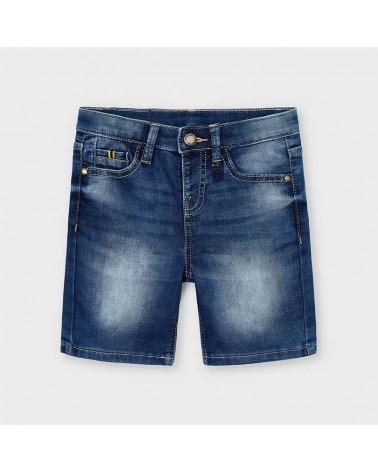 Jeans corto slavato da...