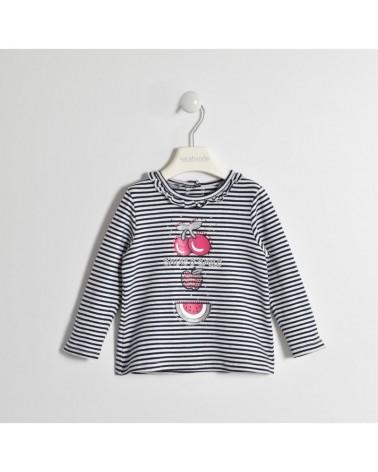 maglietta da bambina rigata...