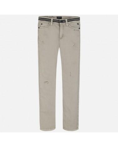 Pantalone lungo effetto...