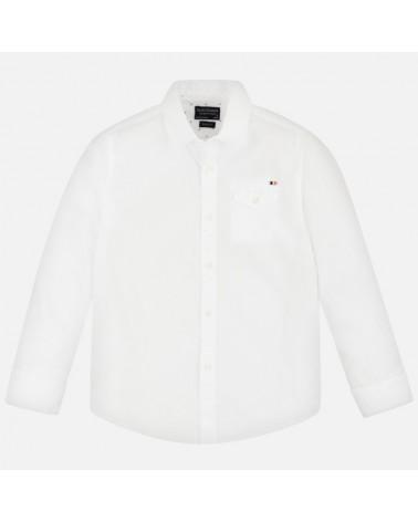 Camicia manica lunga bianco...