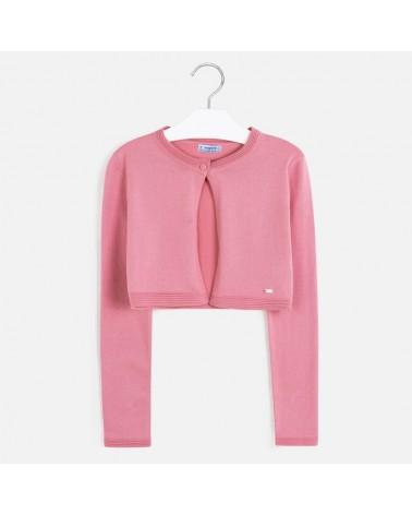 Cardigan basic rosa da...