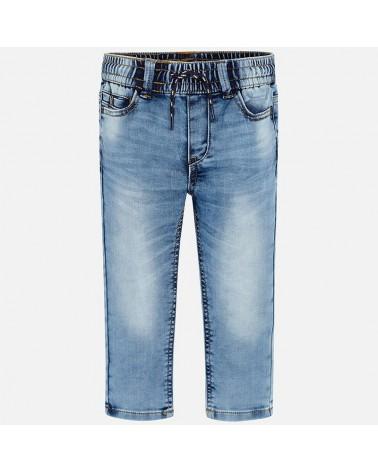 jeans da bambino morbido e...