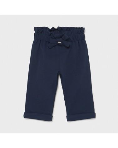 Pantalone punto roma blu da...