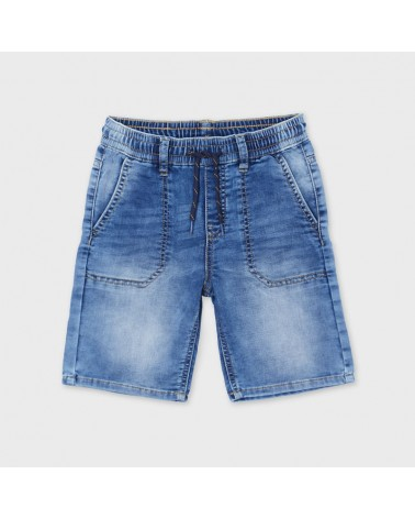 Bermuda jeans jogger soft...
