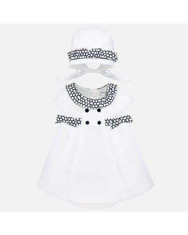 Vestito bianco con...