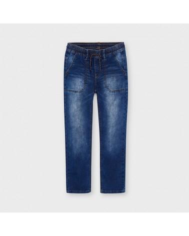 Jeans soft denim jogger da...