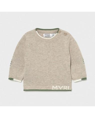 Maglioncino tricot tortora...