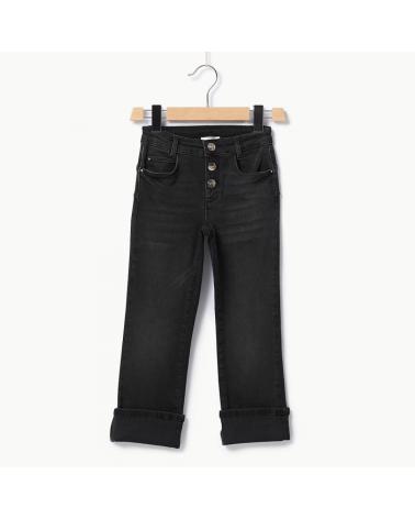 jeans nero modello cropped...