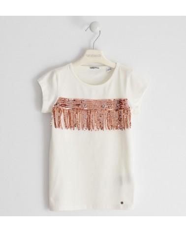 maglietta da ragazza manica...