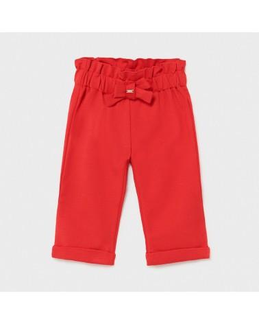 Pantalone punto roma rosso...