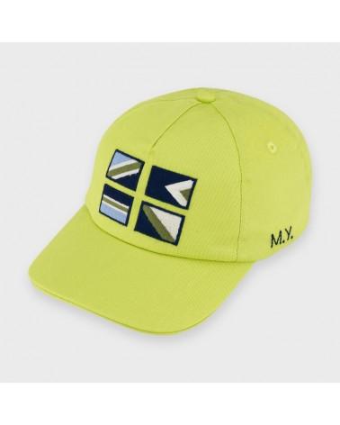 Cappellino con visiera lime...