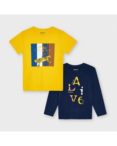 Set 2 magliette manica...