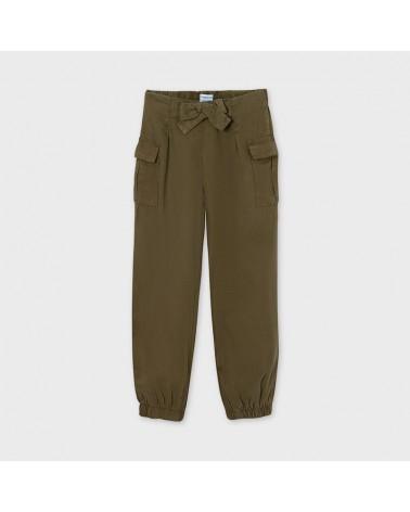Pantalone marrone con...