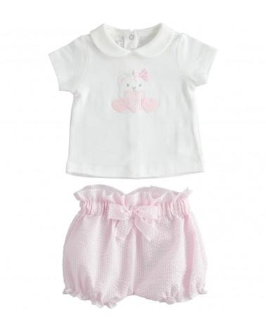 Completo  per neonata due...