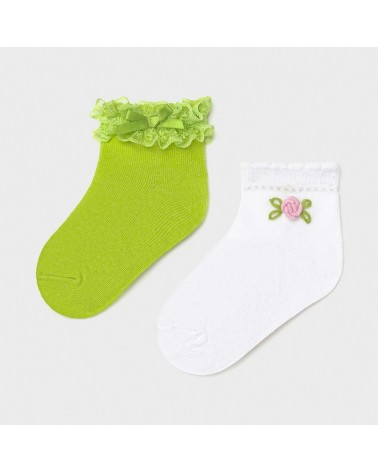 Set 2 coppie di calze...
