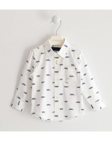 camicia da bambino bianca...