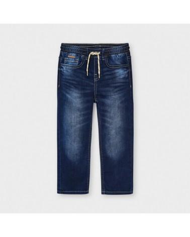 Jeans jogger scuro da...