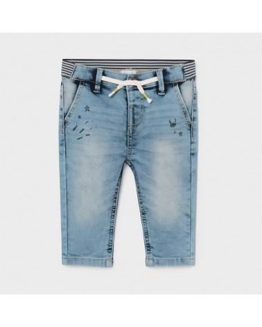 Pantalone soft denim...