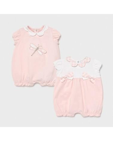Set 2 pigiami rosa da...